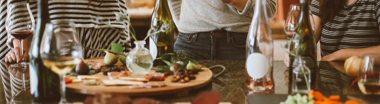 Cenas a Domicilio con Productos Congelados · ¡Que vienen a cenar!